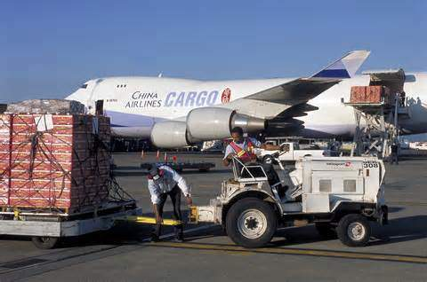 Air delivery of goods and cargoes from China