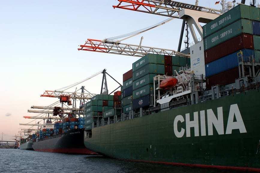 Морская доставка из Китая в Украину